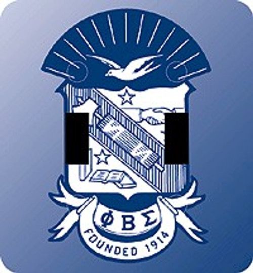 Phi Beta Sigma Double Switch Plate (African American Fraternity-Sorority Light Switch and Outlet Plate Wall Covers)