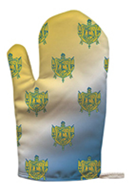 Sigma Gamma Rho Oven Mitt-Pot Holder (African American Fraternity-Sorority Oven Mitts)