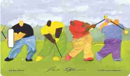 Big Boy Golf Luggage Tag