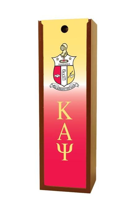Kappa Alpha Psi Wine Box