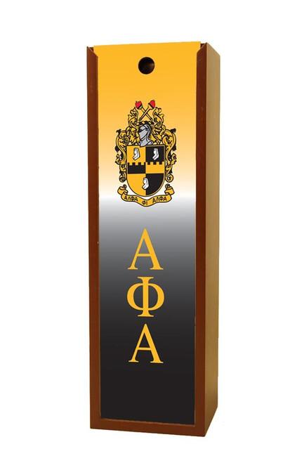 Alpha Phi Alpha Wine Box