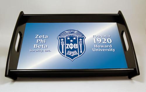 Zeta Phi Beta Serving Tray