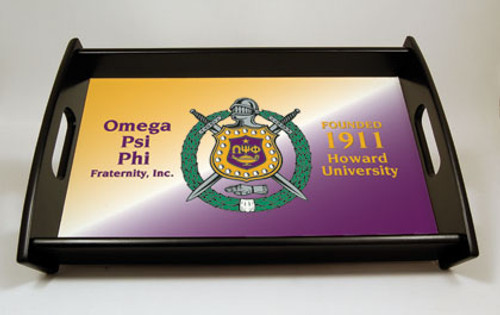 Omega Psi Phi Serving Tray