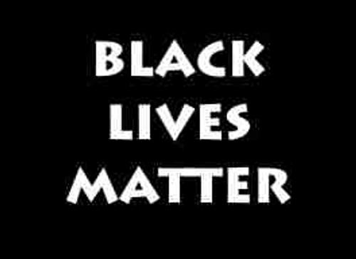 Black Lives Matter Refrigerator Magnet (African American Magnet)