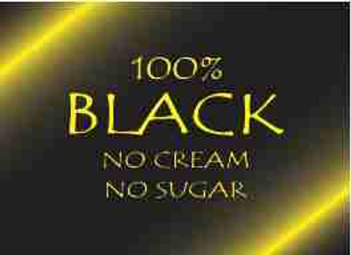 100% Black Refrigerator Magnet (African American Magnet)