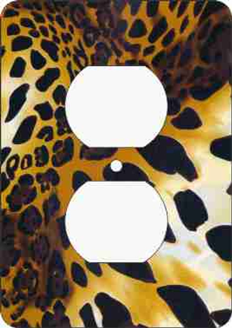 Cheetah Print Outlet Cover (African American Outlet Plate)
