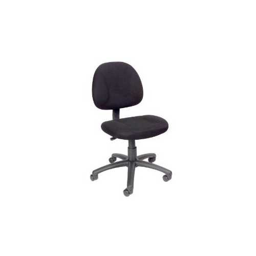 Black Office Chair with Padded Seat and Back with Lumbar Support Q280-BFDPC5701