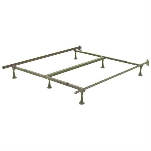 California King Metal Bed Frame with Wide Glide Legs and Headboard Brackets Q280-CKB58198415