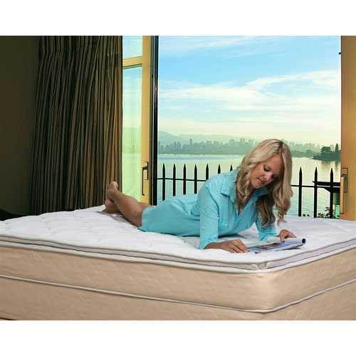 Full size 10-inch High Profile Plush Pillow Top Innerspring Mattress Q280-FULMB89451531