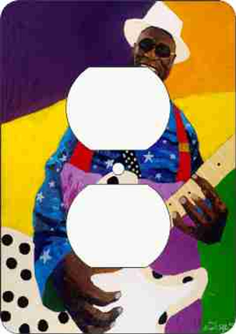 Buddy Guy Outlet Cover (African American Outlet Plate)