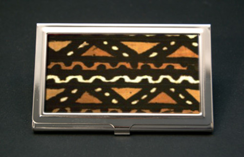 Mudcloth Business Card Holder (African American Business Card Cases)