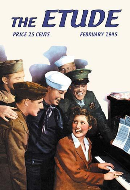 The Etude: Servicemen and Pianist