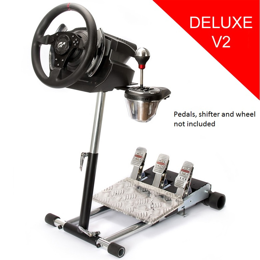 Wheel Stand Pro T5 Deluxe Compatible With Thrustmaster T500RS Wheel.  Deluxe V2
