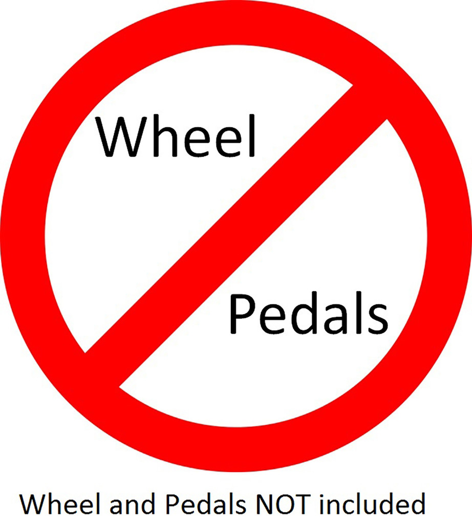 Wheel Stand Pro Warthog:  Compatible With HOTAS WARTHOG & Saitek pedals. V2