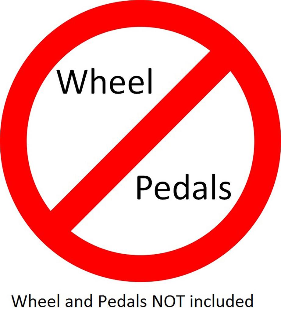 X Refurb Wheel Stand Pro Warthog:  Stand for HOTAS WARTHOG & Saitek pedals. V2