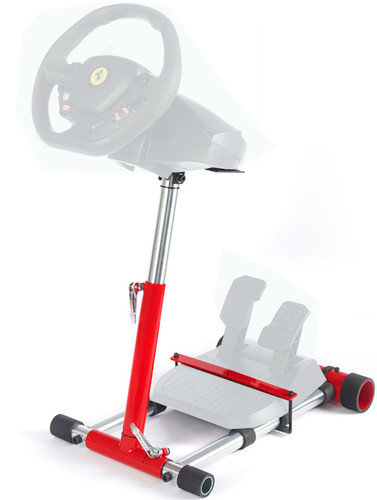 Wheel Stand Pro RED F458 (XBOX 360 ), F458 Spider,(xbox one), T80, T100, RGT, Ferrari GT and F430,  V2.  Wheel and pedals not included.