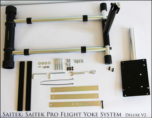 Wheel Stand Pro S Stand Compatible With Saitek Pro Flight Yoke System - Deluxe V2.