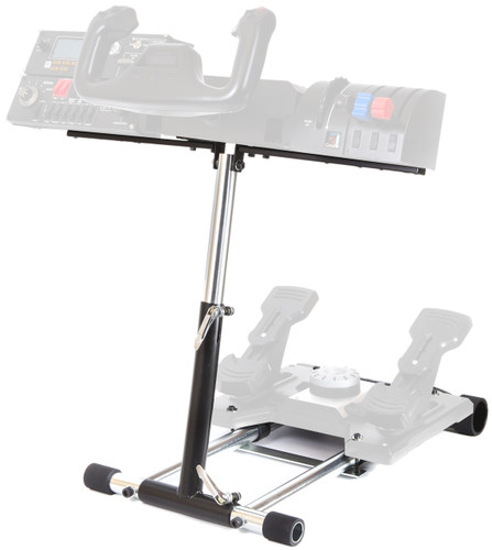 Wheel Stand Pro S Compatible With Saitek Logitech Pro Flight Yoke System - Deluxe V2.