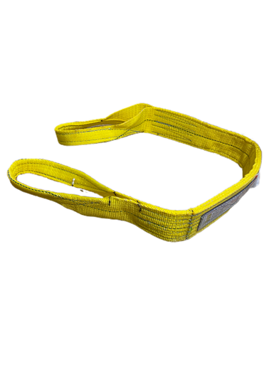 1-Ply 1 x 14 Yellow 1 x 14/' Liftex TE191X14PD Eye and Eye Pro-Edge Polyester Web Sling with Twisted Eyes