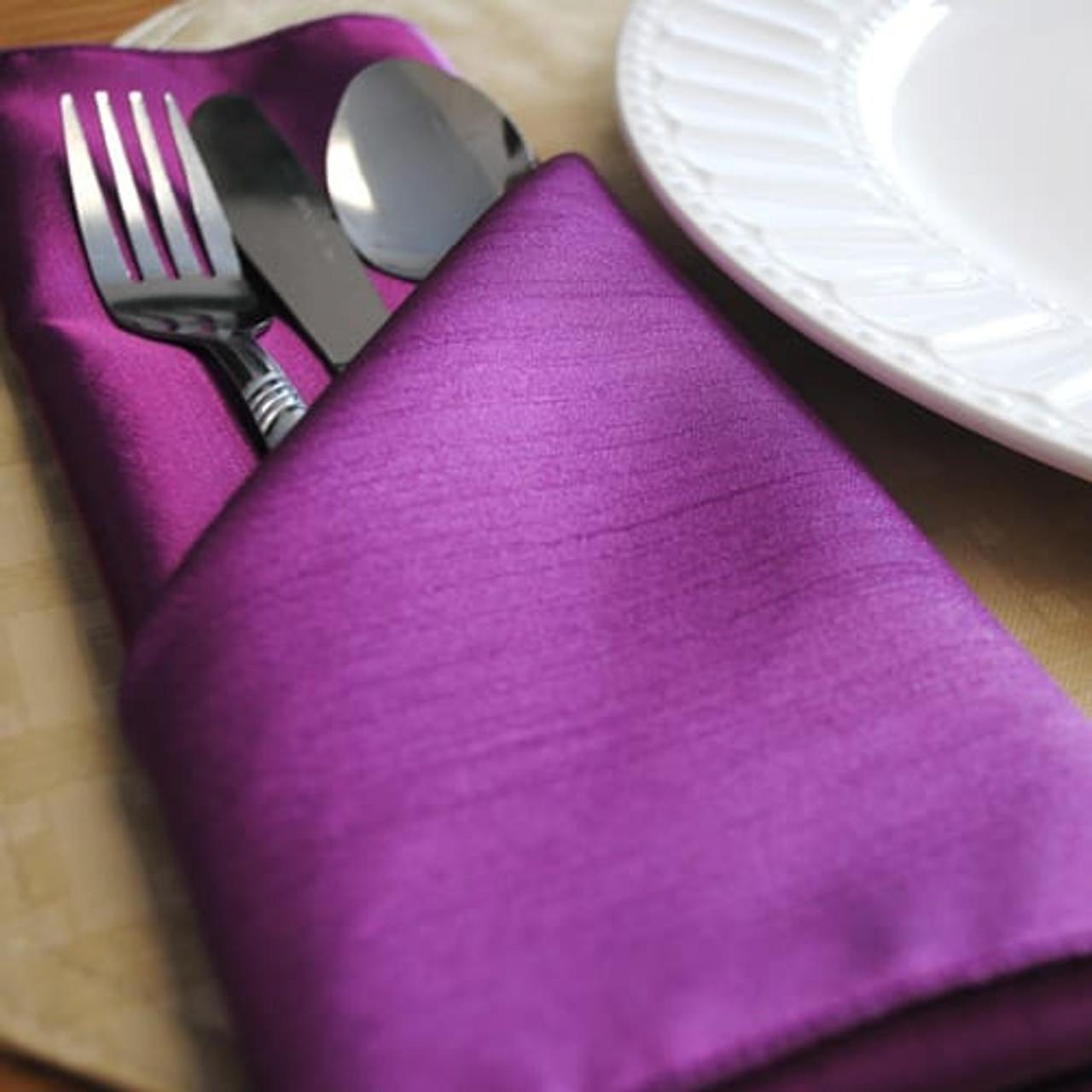 Solid Cloth Napkins Cloth Napkin Bulk