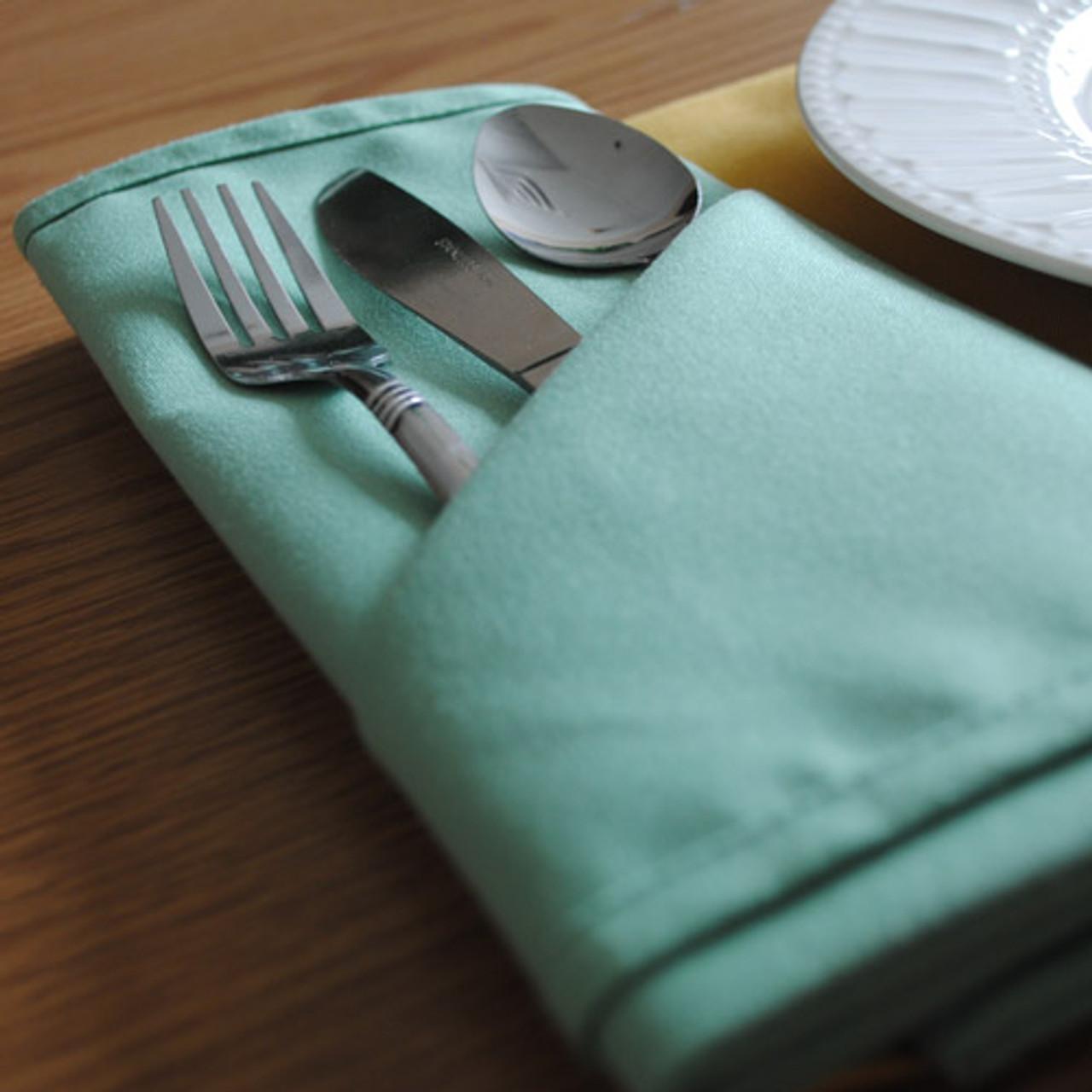 Infinity Cloth Napkins Polyester Table Napkins