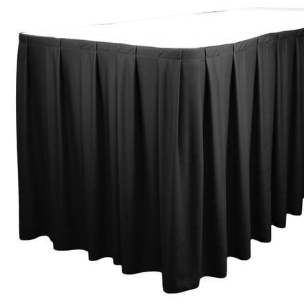 Standard Box Pleat Table Skirting