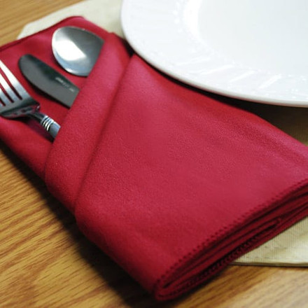 Spun Polyester Cloth Napkins