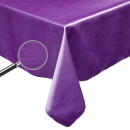 Rectangular Majestic Dupioni Tablecloths