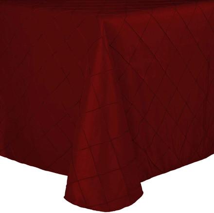 Rectangular Pintuck Taffeta Tablecloths