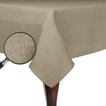 Square Havana Faux Burlap Tablecloths