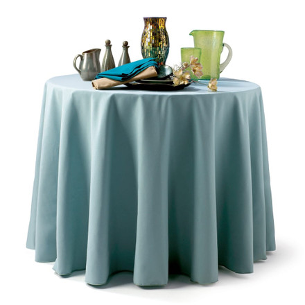 Round Spun Polyester Tablecloths