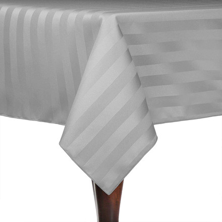 Square Polyester Stripe Tablecloths