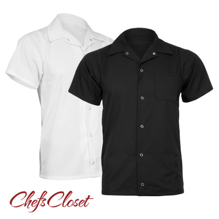 ChefsCloset Snap Front Utility Shirt