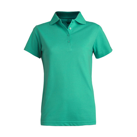 Women's Soft Touch Blended Pique Polo by Edwards