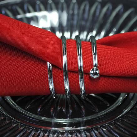 Spiral Napkin Rings