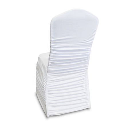 Ruched Spandex Banquet Chair Covers