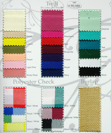 Poly Check Swatch Card