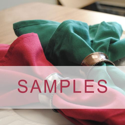 Dura-Spun Polyester Cloth Napkin Samples
