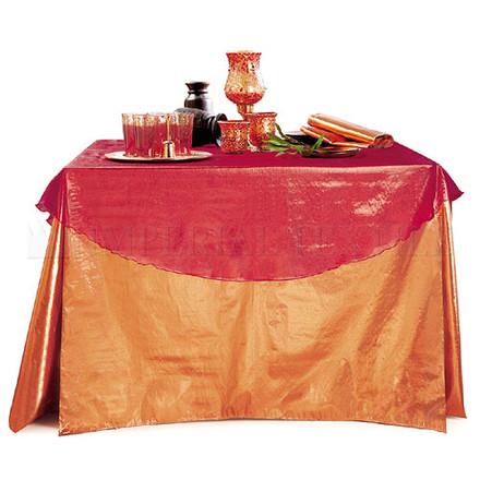 Oval Sparkle Organza Tablecloths
