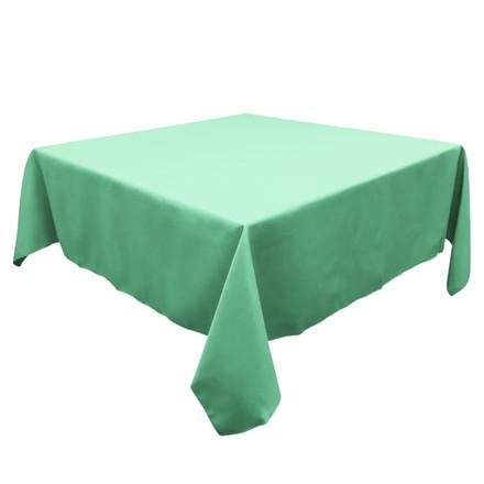Aqua 72 in. Square SimplyPoly Tablecloths