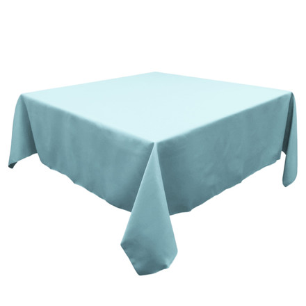 Baby Blue 54 in. Square SimplyPoly Tablecloths