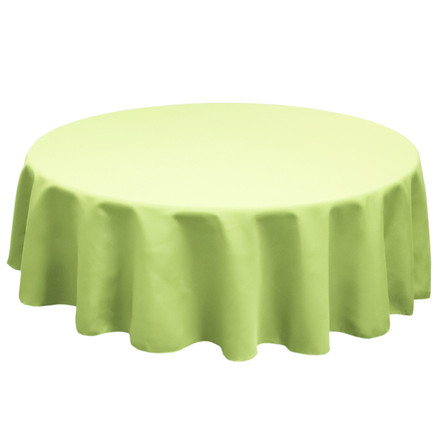 Sage 132 in. Round SimplyPoly Tablecloths