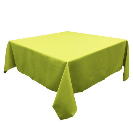 Green Apple 54 in. Square SimplyPoly Tablecloths