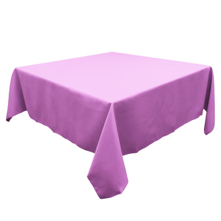 Lavender 54 in. Square SimplyPoly Tablecloths