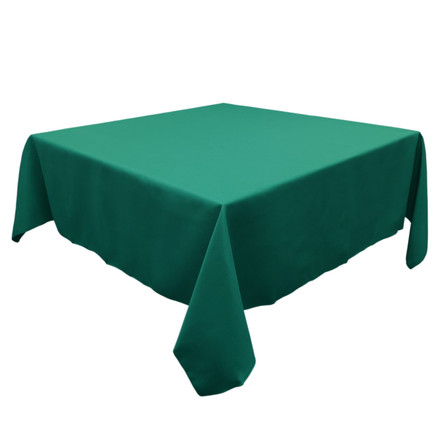 Dark Teal 54 in. Square SimplyPoly Tablecloths