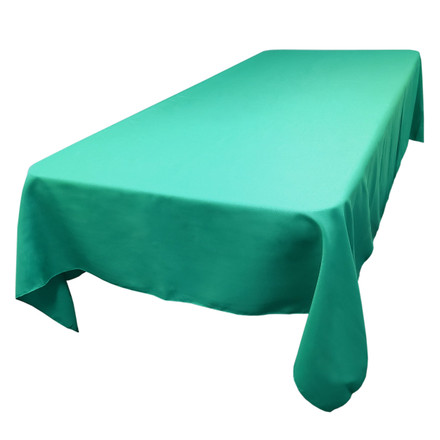 Jade 60 x 120 in. Rectangular SimplyPoly Tablecloths