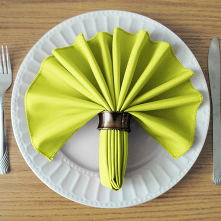 Green Apple SimplyPoly Cloth Napkins