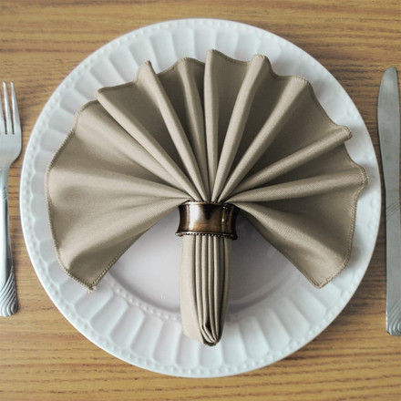 Charcoal SimplyPoly Cloth Napkins