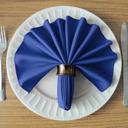 Royal Blue SimplyPoly Cloth Napkins