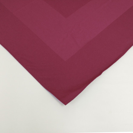 Maroon 72 in Square Overstock Premium Satin Band Tablecloth